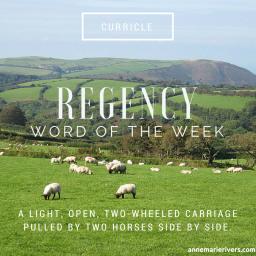 Regency Word of the Week: Curricle